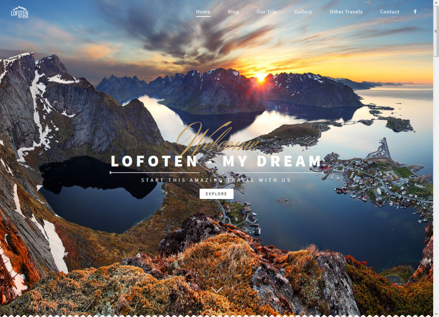 Welcome to Lofoten My Dream