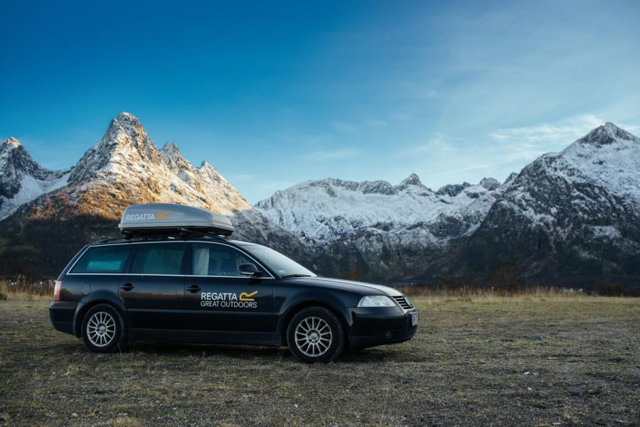 Jak najtaniej podróżować samochodem po Norwegii.